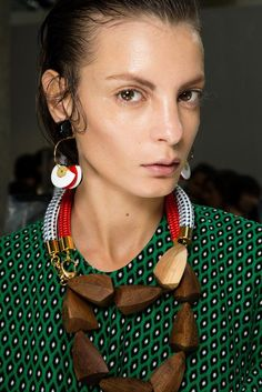 Marni and Prada Hair Spring 2015 - Milan Fashion Week Beauty Trends - Style.com