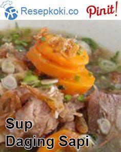 Resep Sup Daging Sapi Enak