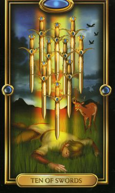 Four of Pentacles Gilded Tarot | Posted on April 20, 2009