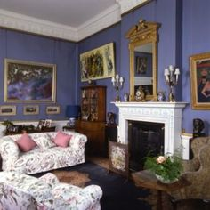 Lord Harewood's Sitting Room by Harewood House, via Flickr