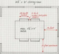table proportions | مقاسات الترابيزة | Pinterest | Conference room ...