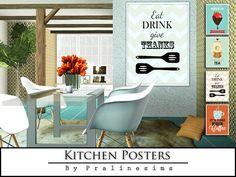 Pralinesims' Kitchen Posters