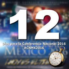 #CNMX2016 Solo 12 dias, la cuenta regresiva esta por llegar a su fin! Ya te registraste? www.alcancevictoriamexico.org