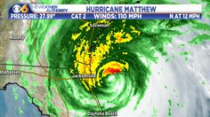 Hurricane Matthew heading towards Georgia, South Carolina
