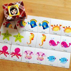 """""""Pia Polya Deniz Hayvanın Eşini Bul""""  Oyun, Pia Polya'nın tüm çocuklara hediyesi olup, fikir mülkiyeti Hotalı Ambalaj Tasarımına aittir."""