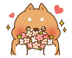 Tonton Friends: Pit-a-Pat Every Day Cute Bear Drawings, Cute Animal Drawings Kawaii, Chibi Cat, Cute Chibi, Cute Couple Cartoon, Cute Cartoon, Gifs, Cute Lockscreens, Cute Romance
