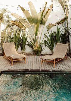 Backyard Patio, Backyard Landscaping, Dream Home Design, House Design, Outdoor Spaces, Outdoor Living, Bali Style Home, Bali House, Bali Fashion
