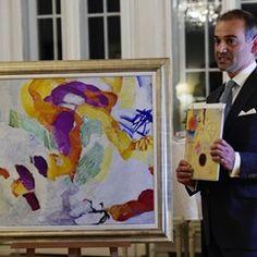 Swedish auction house presents Frantisek Kupka's painting 'L'envolee'