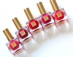 Estee Lauder Pure Red Hautes nail lacquer collection