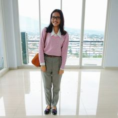 Fashion Blogger// Office look