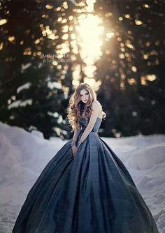 Midnight blue dress
