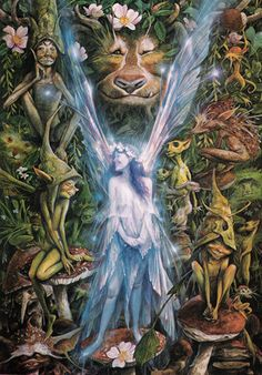 Brian Froud, his art has touched my life in so many ways over the years. This is one of my all time favorites, so whimsical and joyous!