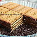 Household Cake packets of Petit-Beurre pill of darkish chocolate Nestlé Dessert eggs -Four tablespoons instantaneous espresso Sweet Recipes, Cake Recipes, Snack Recipes, Dessert Recipes, Cooking Recipes, Snacks, Food Cakes, Desserts With Biscuits, No Cook Meals