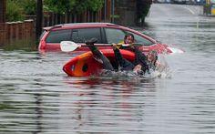 Collection of Canoe and Kayak fails - tandem kayak capsize