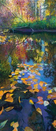 Calmness in the peace - Ellen Dittebrandt Landscape Art, Landscape Paintings, American Artists, Art World, Painting Inspiration, Watercolor Art, Illustration, Contemporary Art, Abstract Art