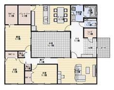 Sims House Design, Bungalow, House Plans, Floor Plans, How To Plan, Architecture, Interior, Room, Life