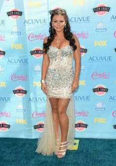 """Jenni """"JWoww"""" Farley from 2013 Teen Choice Awards Red Carpet Arrivals Celebrity Outfits, Celebrity Style, Stunning Dresses, Nice Dresses, Teen Choice Awards 2013, Snooki And Jwoww, Prom Looks, Celebrity Red Carpet, Celebs"""