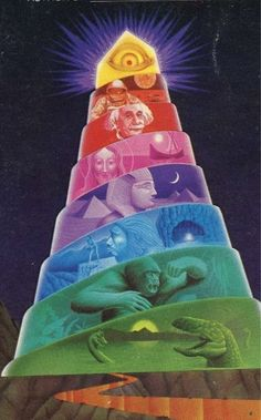 The top of the Mayan calendar-pyramid... poised here at the tipping-point... I am most DEFINiTELY feeling it!