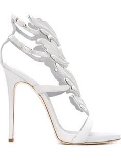 wing detail sandals