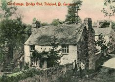 Old Photos Of The United Kingdom,Pictures And Postcards Of Great Britain, England,Scotland And Wales,Victorian and Edwardian old photos and vintage postcards of the British Isles. Old Cottage, Cottage Style, Hokusai Artwork, Places In Cornwall, Falmouth Cornwall, Cornwall Cottages, Old Time Photos, My Family History, England And Scotland