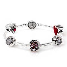 Pandora Encased In Love Complete Bracelet Cb667