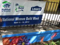 The afternoon shadows bring closure to a wonderful day at Women Build