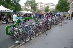 Bike Rack Outside | Community Post: 10 Most Essential Aspects Of A Hipster Coffee Shop