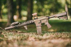 "RailScales®'s Instagram photo: ""Tano Tuesday Blaster #railscales #anchor #htpscales #minidot #terrabronze #noveske #kac #knightsarmament #urx4 #SilencerCo #saker556k…"""
