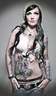 Adams Family tattoo, dimple piercings....!!     Please follow:  http://pinterest.com/treypeezy  http://treypeezy.com
