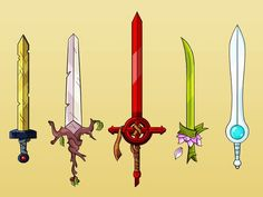 I just love the art of adventure time so decided to draw all finns swords troughout the series. A great heroes swords [ Adventure Time ] Adventure Time Tattoo, Adventure Time Finn, Princess Adventure, Tatoo Geek, Abenteuerzeit Mit Finn Und Jake, Adveture Time, Sword Drawing, Sword Tattoo, Finn The Human