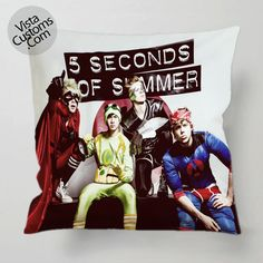 5 Seconds Of Summer Dont Stop pillow case, cover ( 1 or 2 Side Print With Size 16, 18, 20, 26, 30, 36 inch )