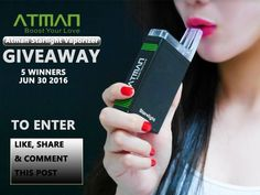 Atman Starlight Personal Vaporizer Giveaway