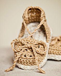 Sandalias de ganchillo, Mon petit violon | Kireei, cosas bellas