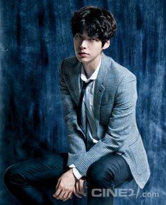 Ahn Jae Hyun - Cine21 Magazine August Issue '14