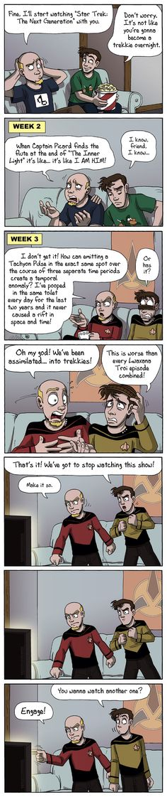 How regular people become Trekkies. Star Trek