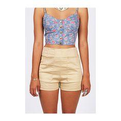 Lipsy Naval High Waist Denim Shorts | My Style | Pinterest | Lipsy