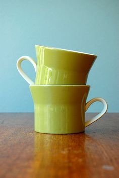 gorgeous pale geen mikasa cups by ben seibel