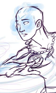 Older Aang by *Windy-Asylum on deviantART