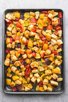 16 Sheet Pan Dinners