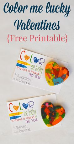 Free Printable Valentines! How cute are these?