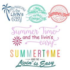Summer Time Brand Cuttable Design Cut File. Vector, Clipart, Digital Scrapbooking Download, Available in JPEG, PDF, EPS, DXF and SVG. Works with Cricut, Design Space, Sure Cuts A Lot, Make the Cut!, Inkscape, CorelDraw, Adobe Illustrator, Silhouette Cameo, Brother ScanNCut and other software.
