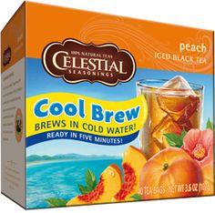 Peach Cool Brew Iced Tea