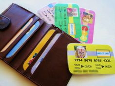 8 Pretend Credit Cards Customize with Child's Photo Personalize Children Toy Money - Girl Theme - Made To Order on Etsy, $5.00