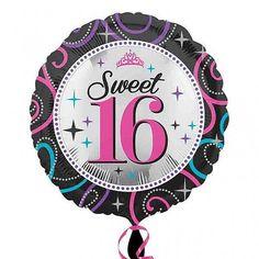 "17 /"" ROUND FIESTA FOIL BALLOON CARNIVAL PARTY CELEBRATION FREE P /& P UK SELLER"