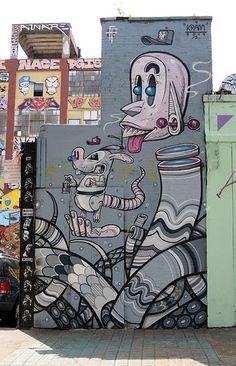 5 Pointz Mural by Kram