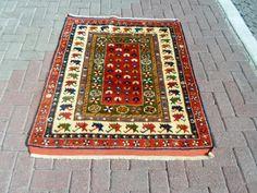 Vintage west anatolian Bergama Kozak  hand wowen by ArasCarpet