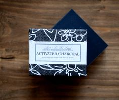 Activated Charcoal Detox Soap  Big Bar Tea Tree by AnitasLaLaLand, $7.00