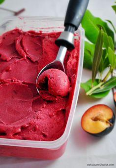 Make Ice Cream, Homemade Ice Cream, Food Court, Picky Eaters, Sorbet, Betta, Raspberry, Food And Drink, Yummy Food