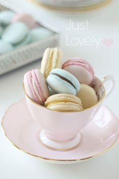 You don't need a fancy bakery and a view of the Eiffel Tower to enjoy macarons. You can make these beautiful pastel versions—ideal for Easter dessert—right at home. Get the recipe at Passion for Baking.