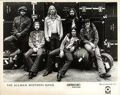 Listen to music from The Allman Brothers Band like Ramblin' Man, Midnight Rider & more. Find the latest tracks, albums, and images from The Allman Brothers Band. I Love Music, Kinds Of Music, Good Music, Music Music, Music Stuff, Blues Music, Allman Brothers, Arkansas, Rock N Roll